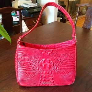 BRAHMIN HANDBAG NOELLE  CANDY  APPLE